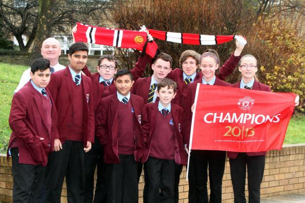 The pupils of Holy Family are united in their support
