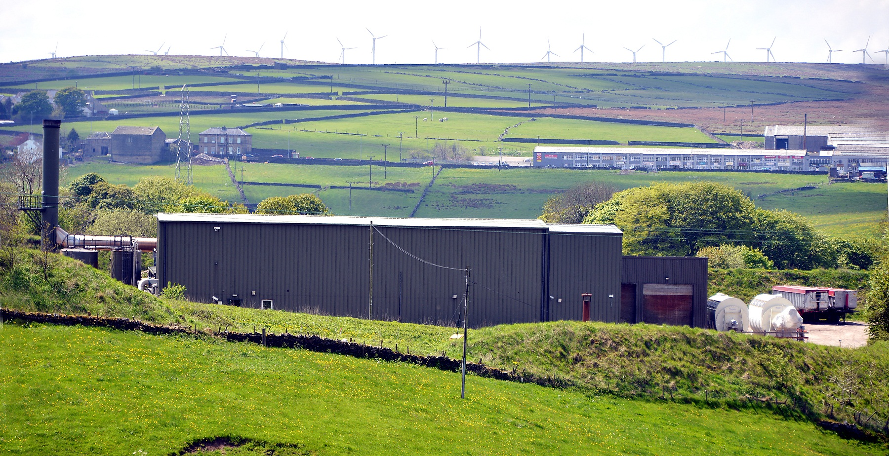 The Omega Proteins site in Denholme, which has been the subject of a successful planning appeal by its owners