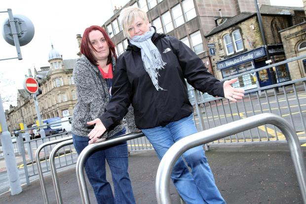 Maz Simmons, left, and Karen Wadsworth are appealing for bikes to enable them to undertake a charity ride for Manorlands