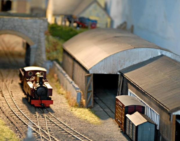 Making tracks for model railway exhibition in Keighley