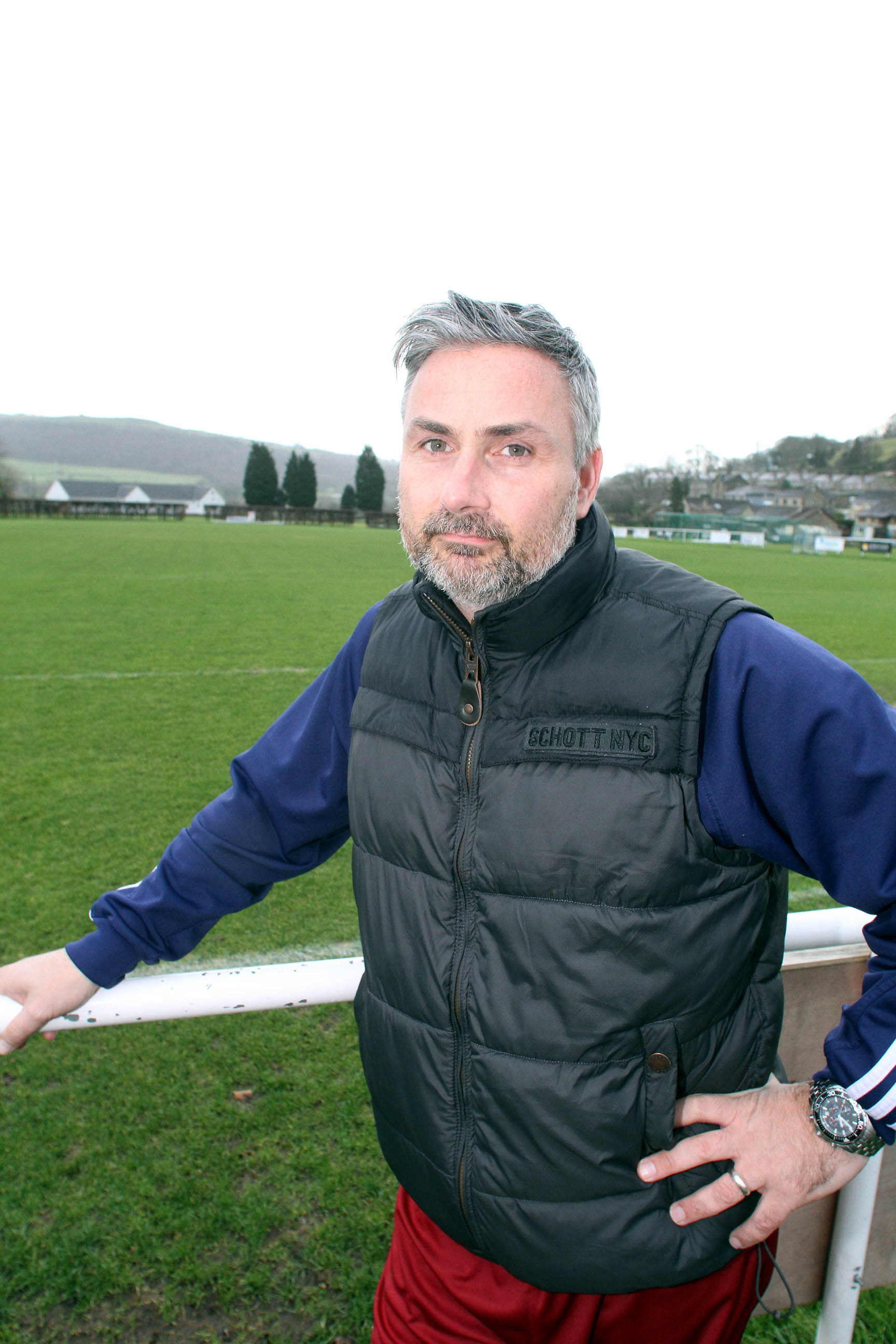 Steeton manager Roy Mason