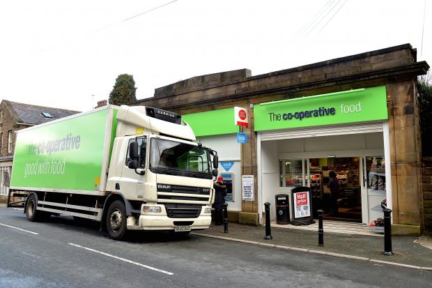 Keighley News: The Co-op store in Oxenhope was one of the ones targeted