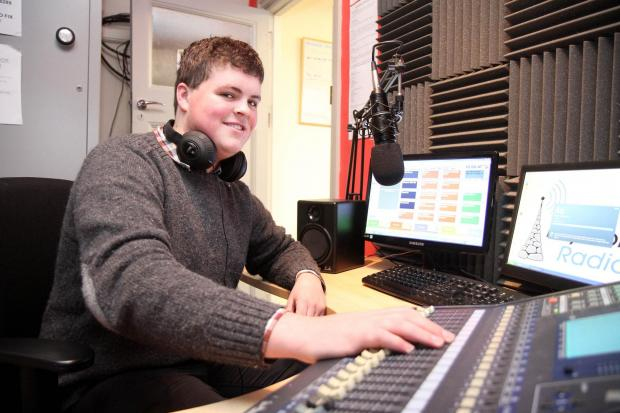 Oliver Wilkinson, from Cowling, who has won a broadcast engineer apprenticeship with the BBC
