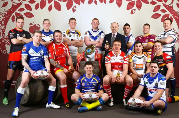 Captains line up at the Championship launch this week