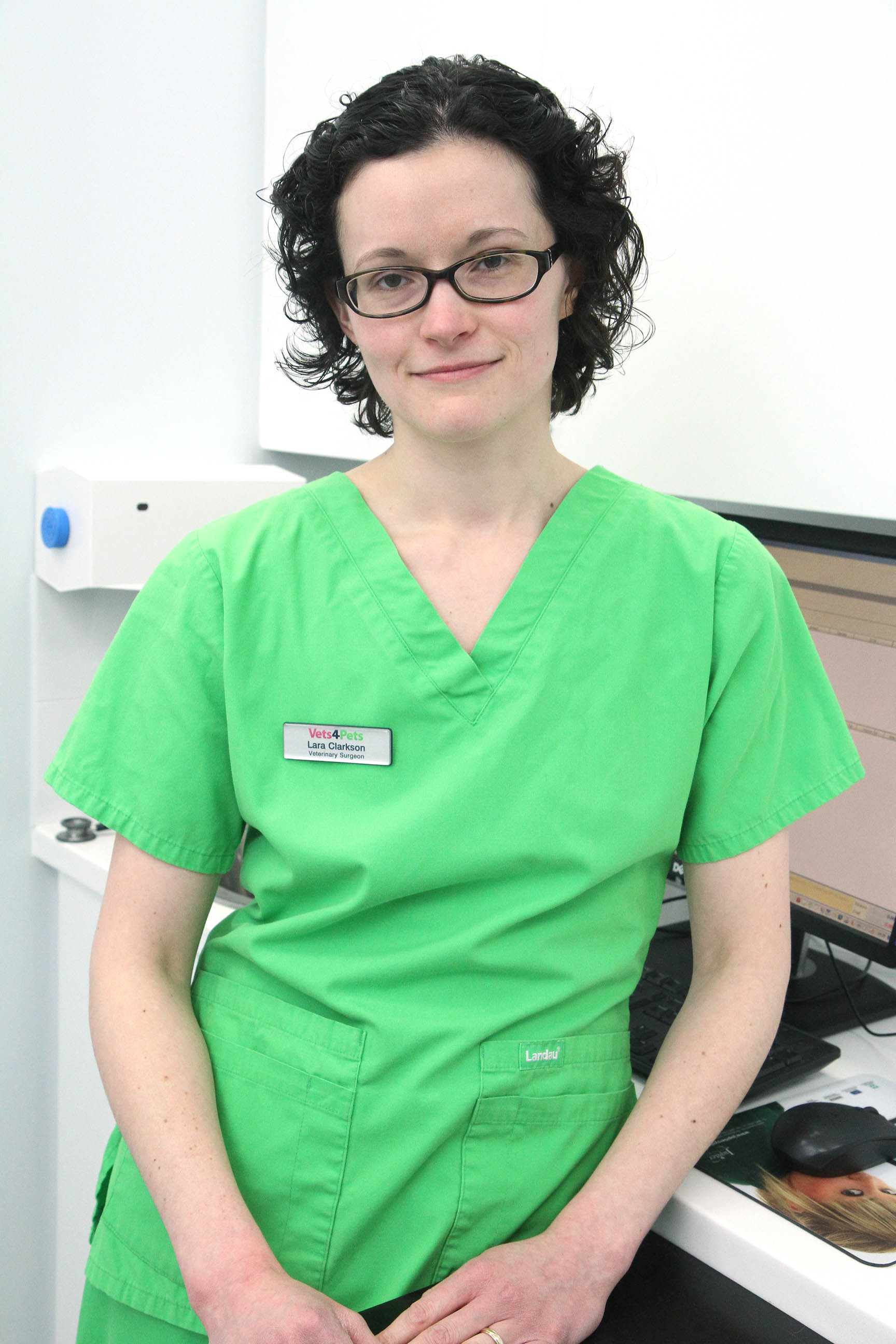 Vet Lara Clarkson, of Keighley Vets4Pets, who had to put down an illegally imported dog amid fears it could have rabies