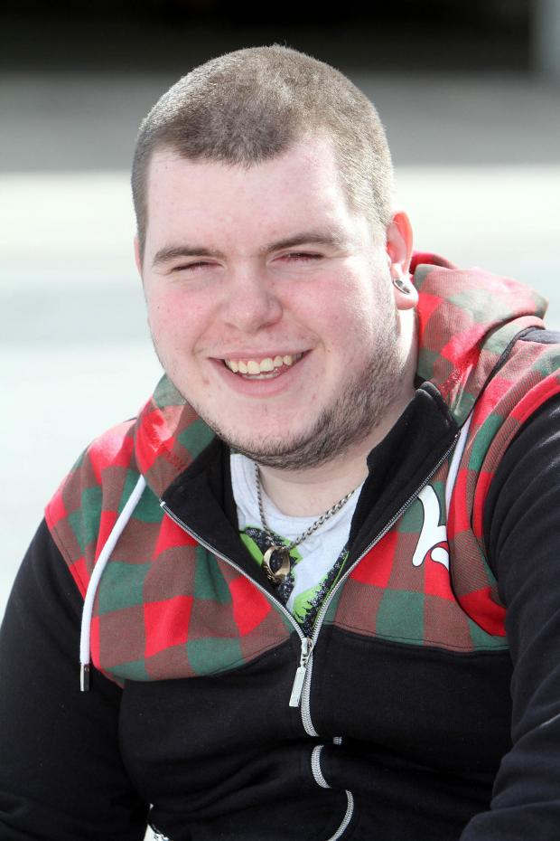 Keighley News: Silsden teenager Nathan Cubitt, who was paralysed in a rugby accident