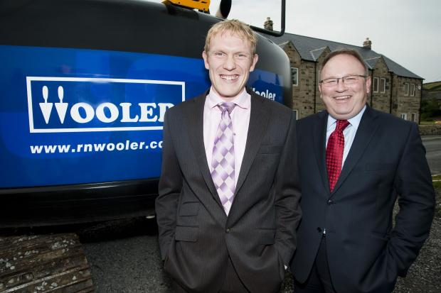 l Gareth Wooler, of R N Wooler and Co in Keighley, which has submitted plans for an extension to its Lawkholme Lane premises following a boost in business