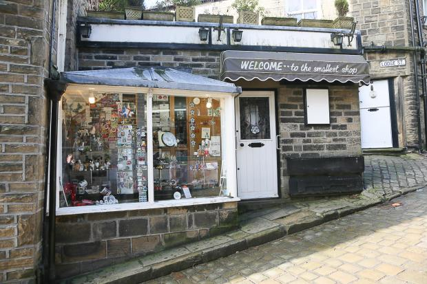 The Smallest Shop in Haworth, which could close later this year