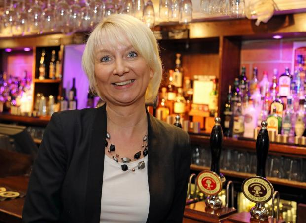 Timothy Taylor's new pub estate operations manager, Heike Funke