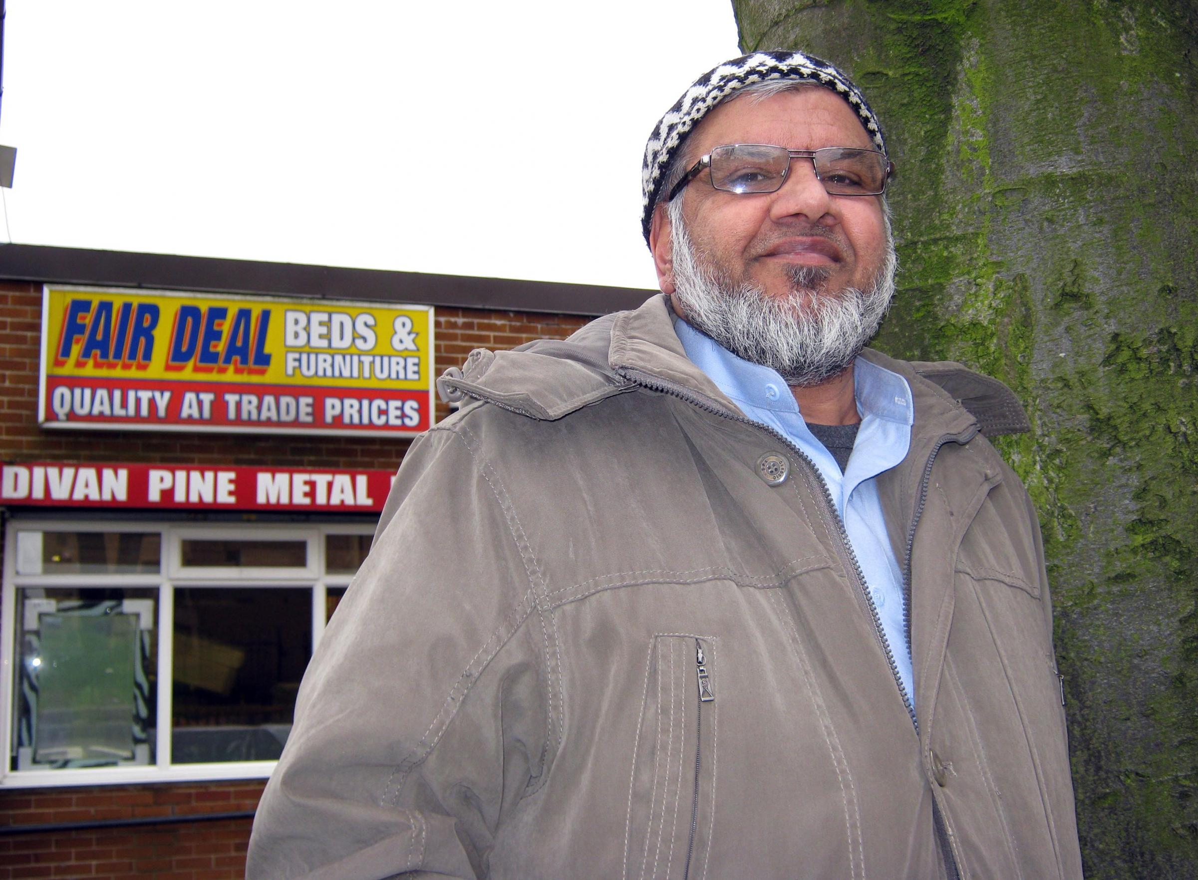 Aslam Khan, of Keighley, who has had one of his naats – an Islamic poem – read out on TV