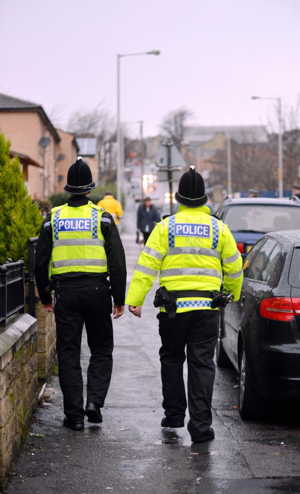 Keighley News: Police on patrol