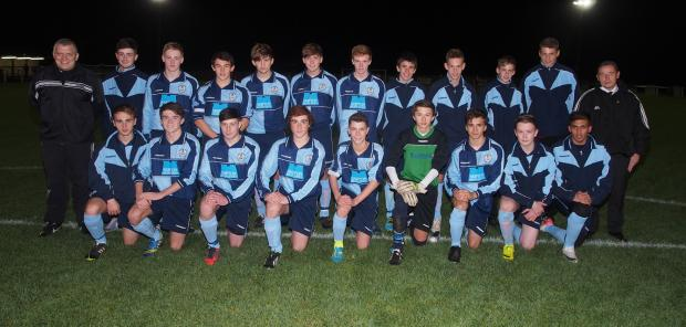 The Keighley FA under-17 squad