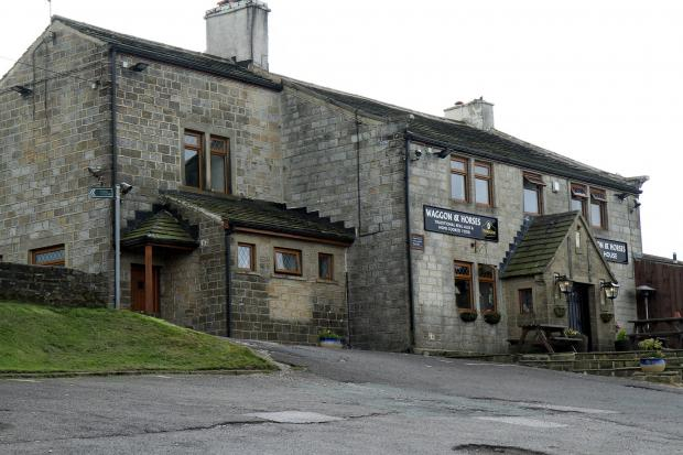 The Waggon and Horses in Oxenhope, which is on the market after closing