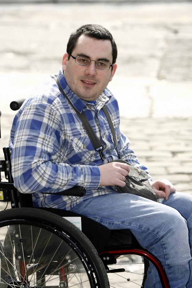 Keighley News: Tom Walsh, who is angry about taxi fees for the disabled
