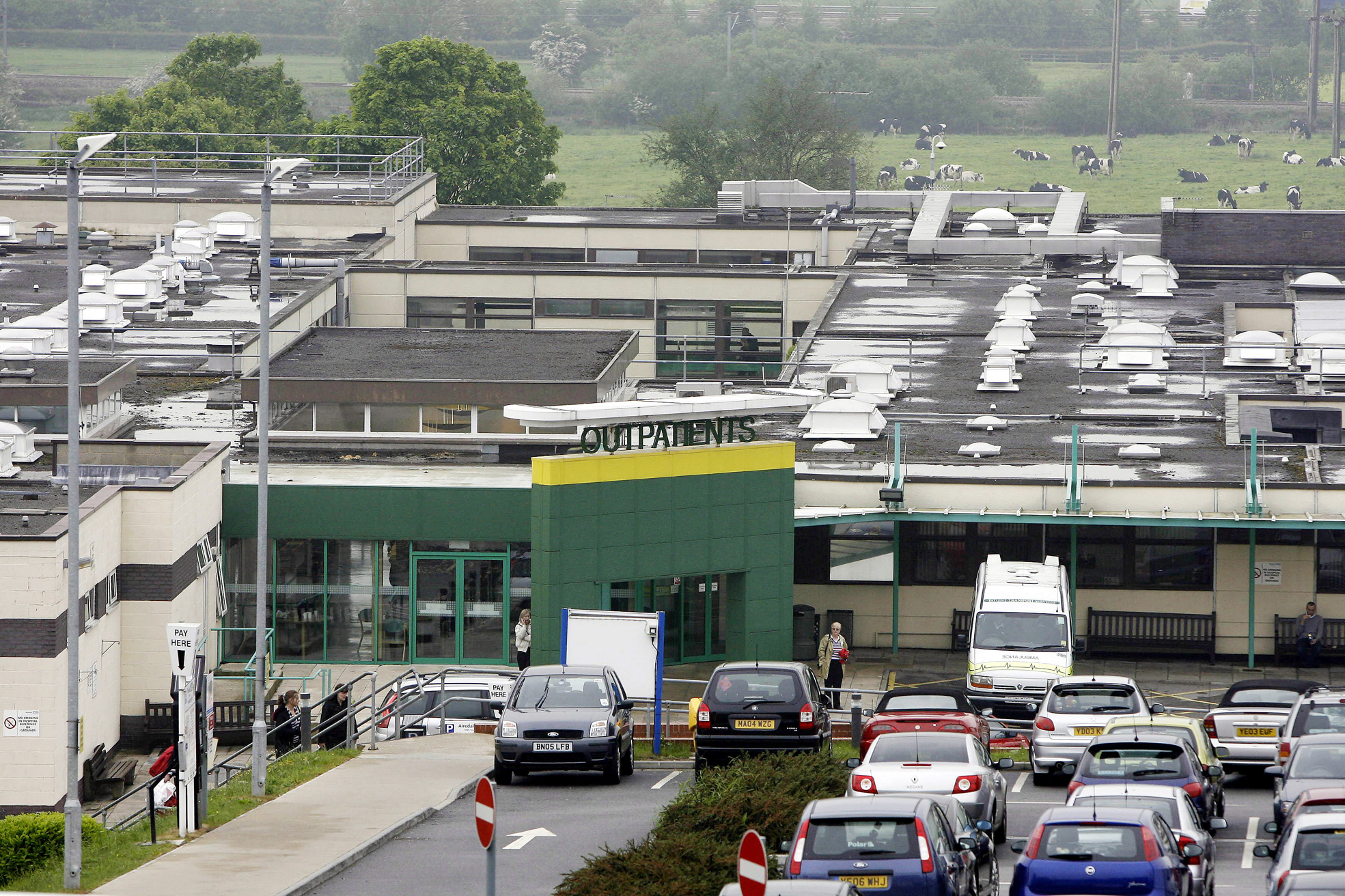 Airedale Hospital beats its 2012 score in staff survey