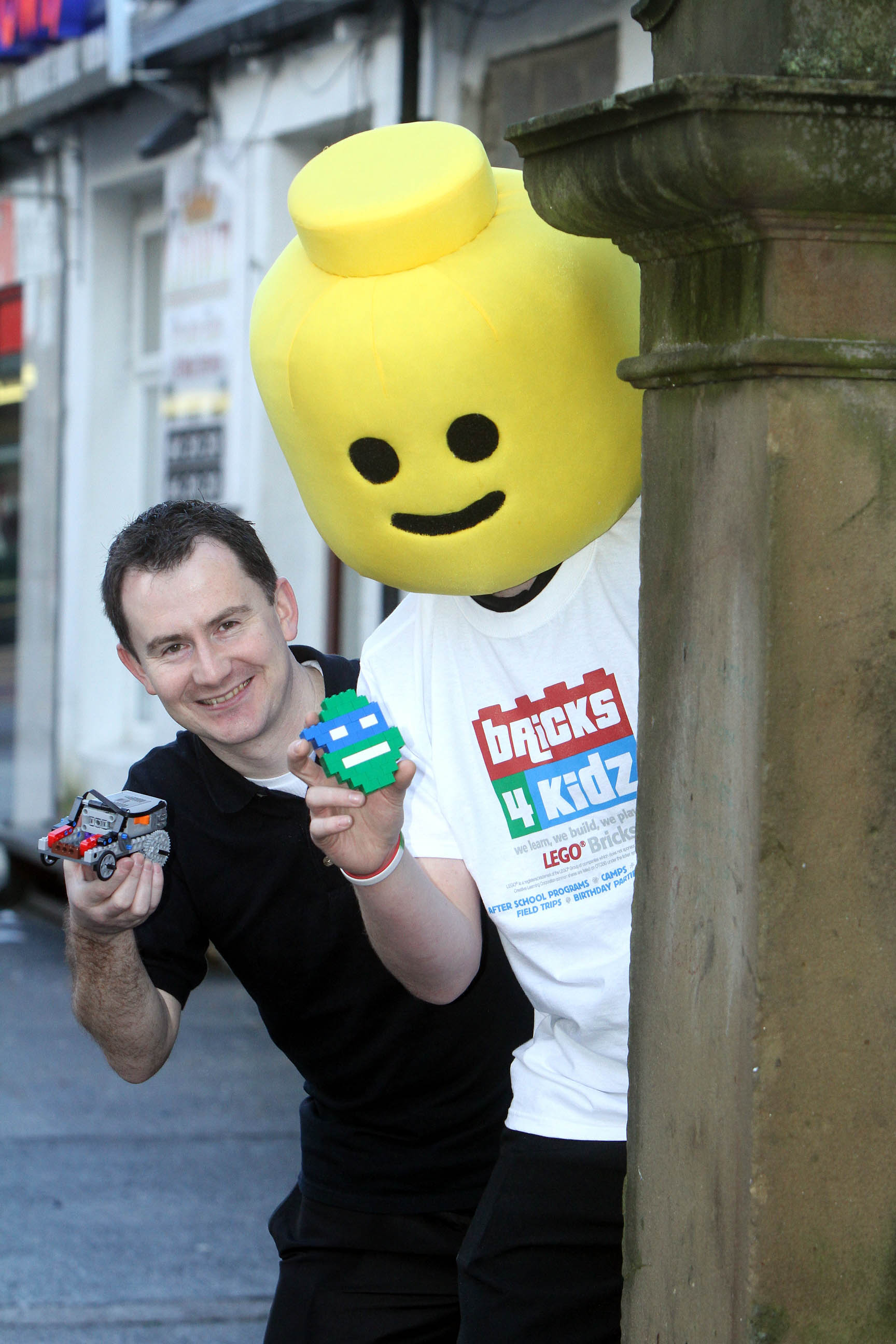 Keighley's 'Lego man' proves he's star attraction