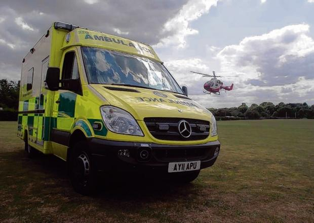 Biker hurt in crash at Stockbridge