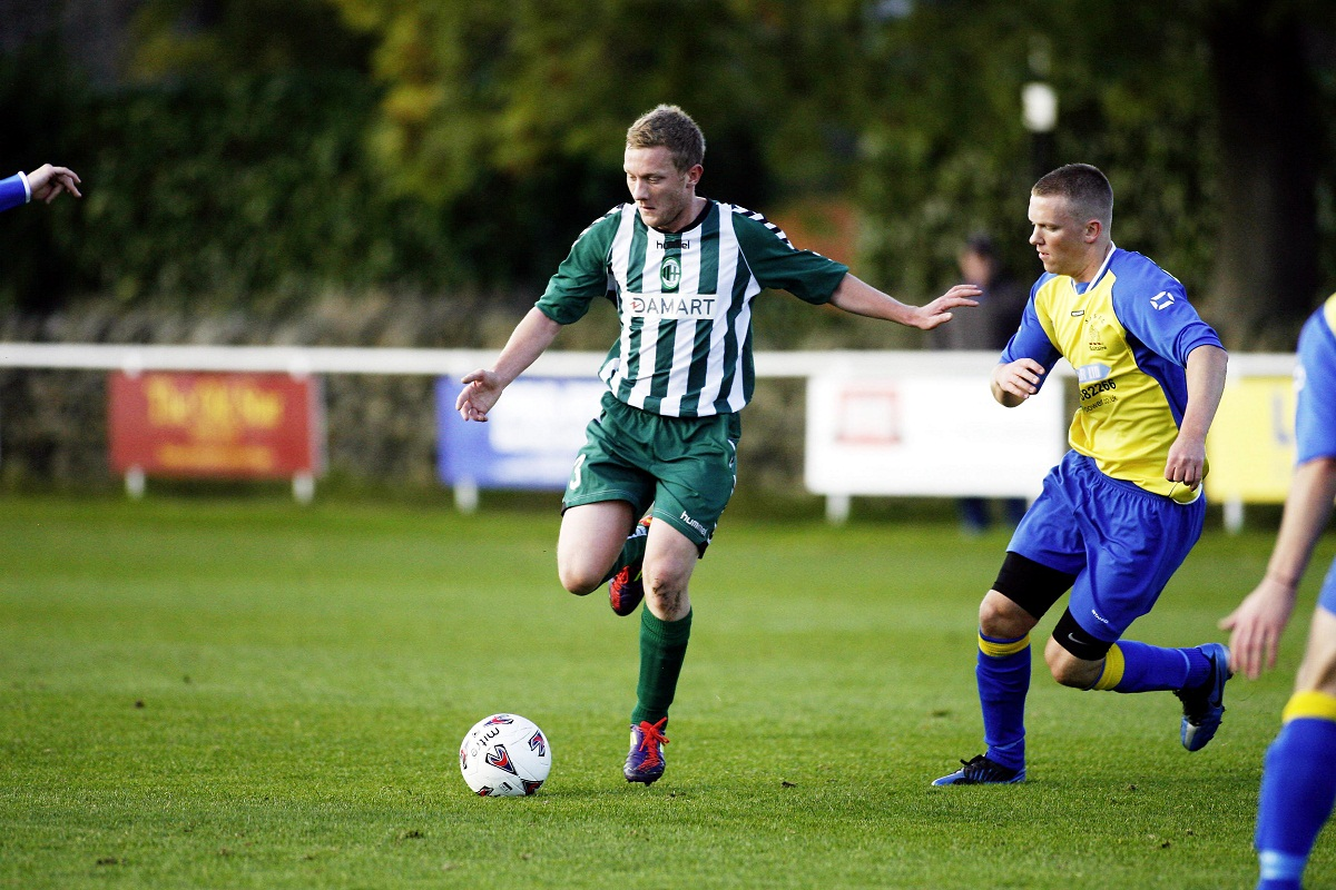 Andy King's superb back-flick brought Steeton level