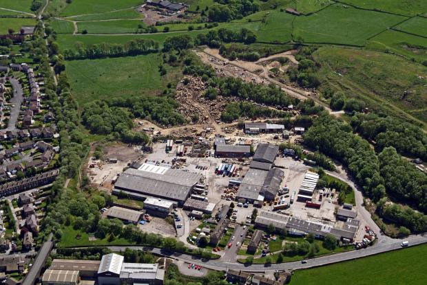 Keighley News: The Manywells site from above