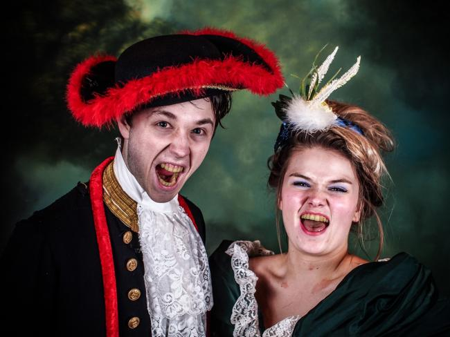 Duo A Light Touch In Les Miserables Dark Keighley News