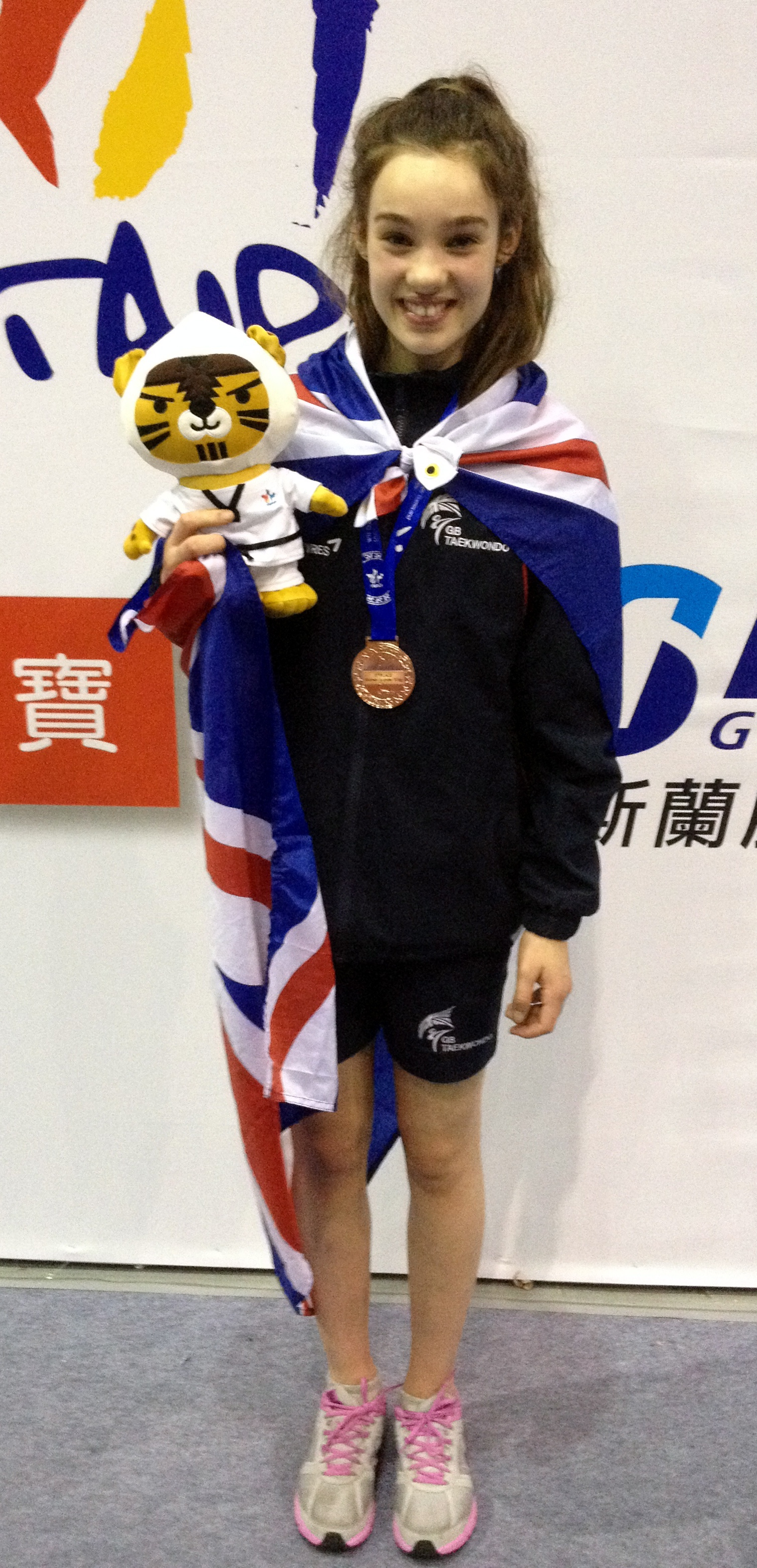 Age no limit as Keighley's Leah wins world bronze