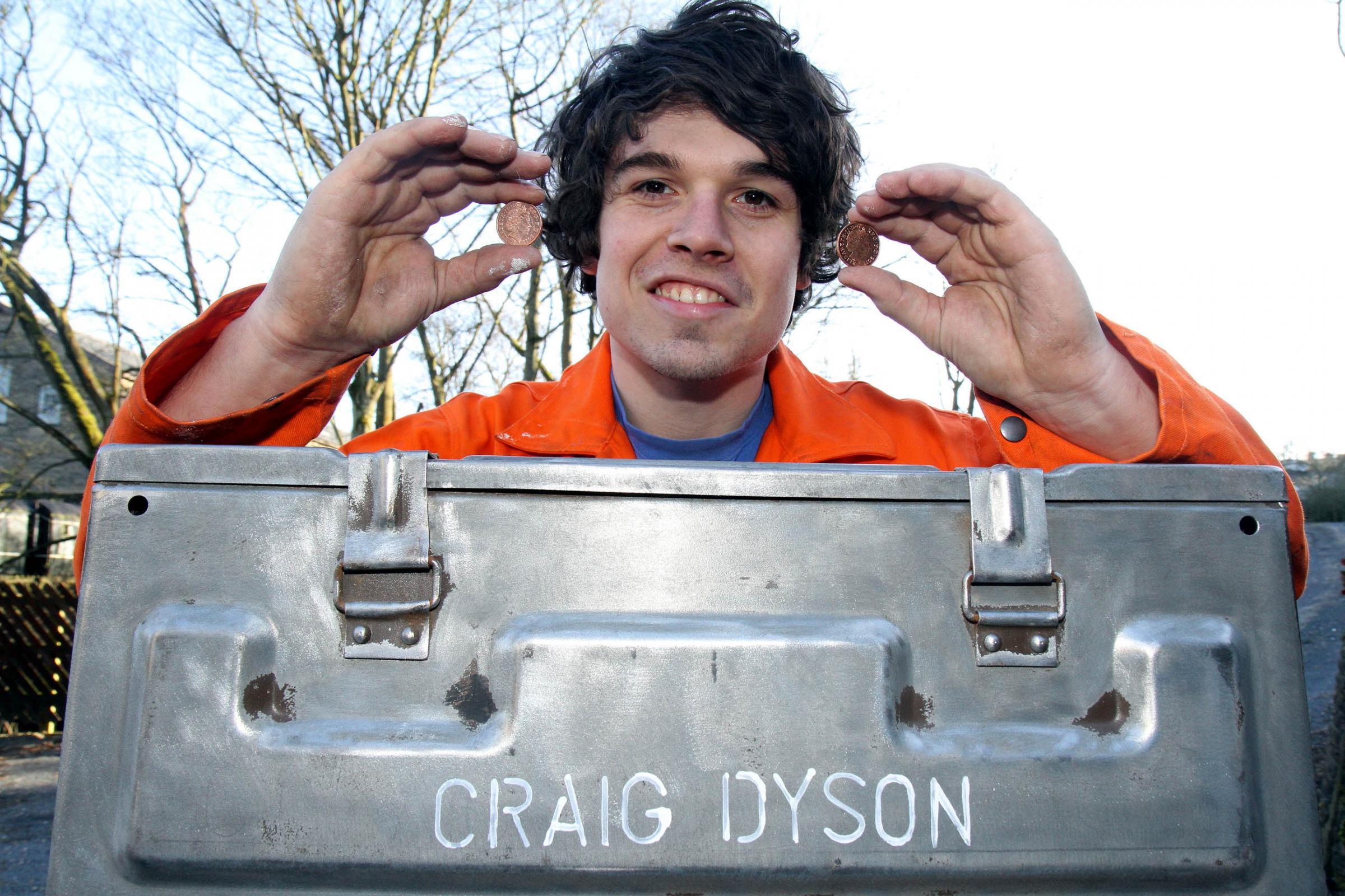 Haworth sculptor, Craig Dyson, who is appealing for funding to create a Tour-themed sculpture