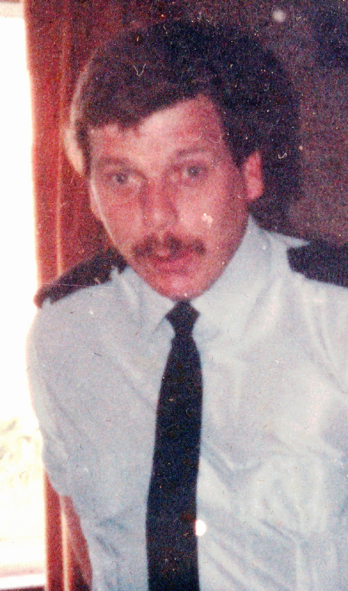 Firefighter Jeff Naylor, who died from injuries sustained while trying to rescue children from a burning house in 1983