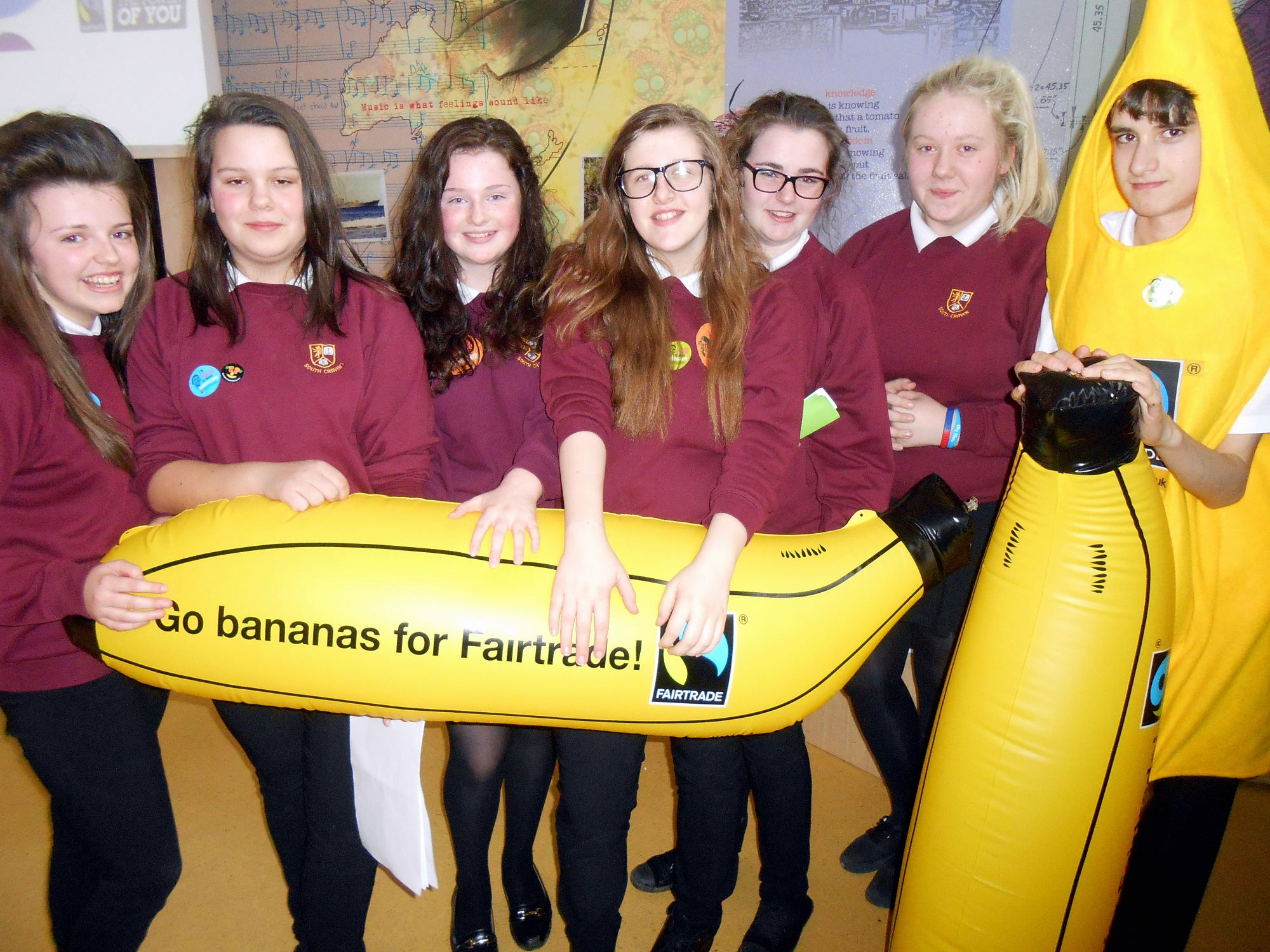 Keighley district pupils learn all about Fair Trade