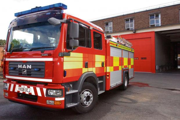 Keighley firefighters tackle Riddlesden blaze