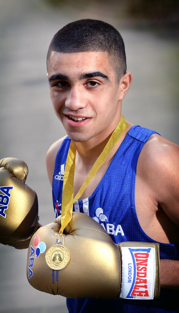 Keighley News: Muhammad Ali has won a world youth silver medal