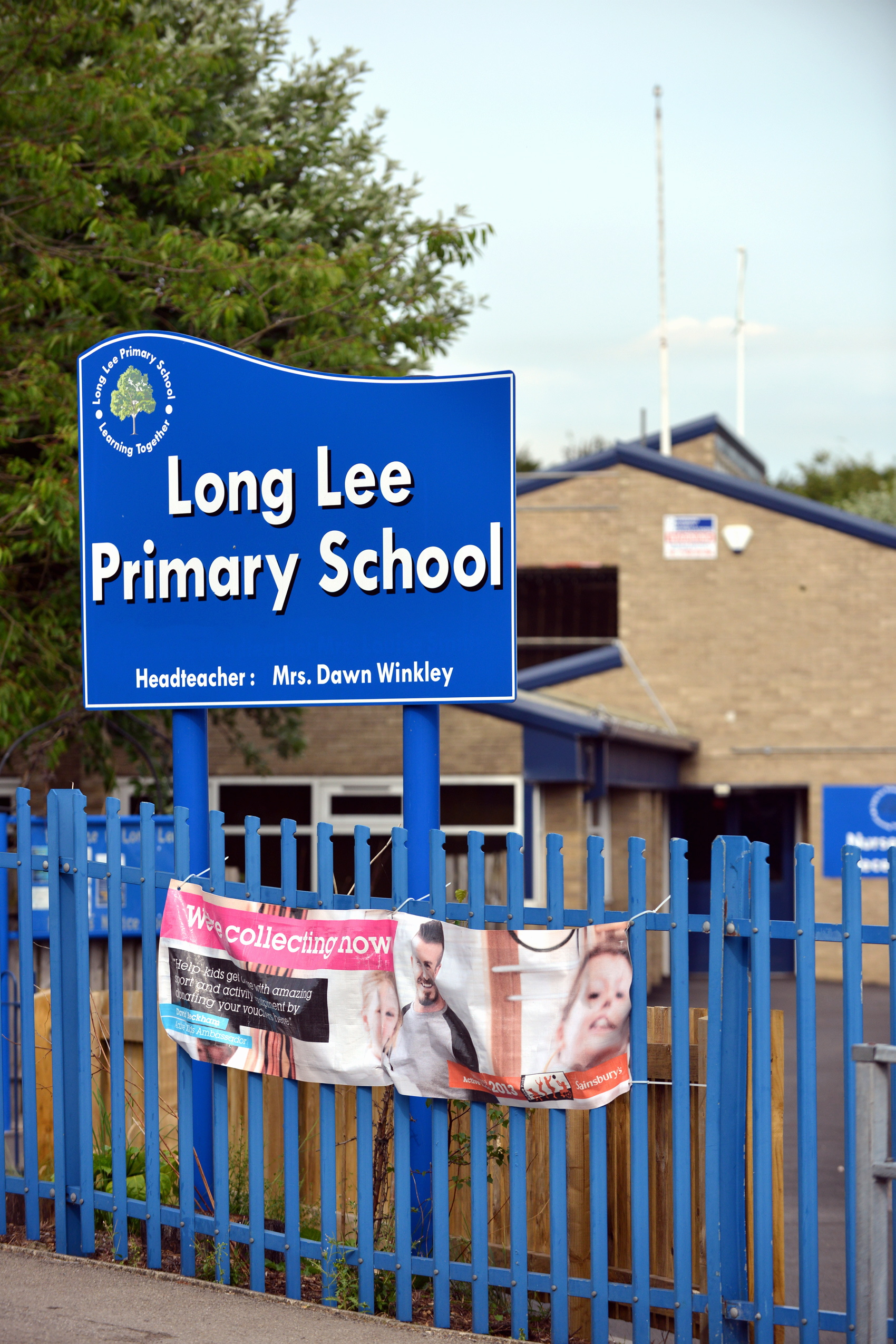 Long Lee Primary School, which is the subject of a second investigation into its practices