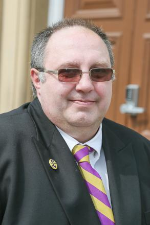 George Firth, who has won a by-election to represent Fell Lane and Westburn award on Keighley Town Council