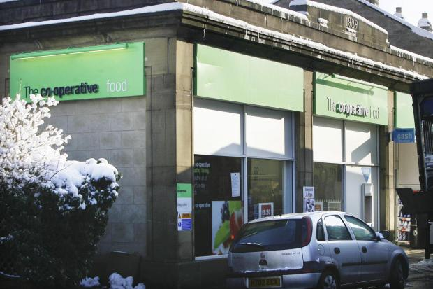 Masked raiders used power saw at Oxenhope's Co-op
