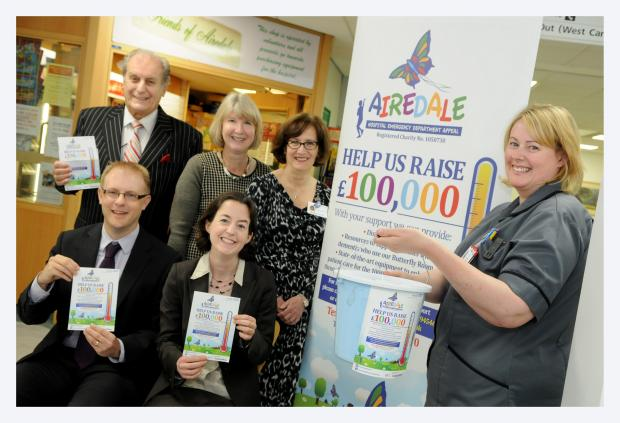£100,000 A&E appeal for Airedale Hospital
