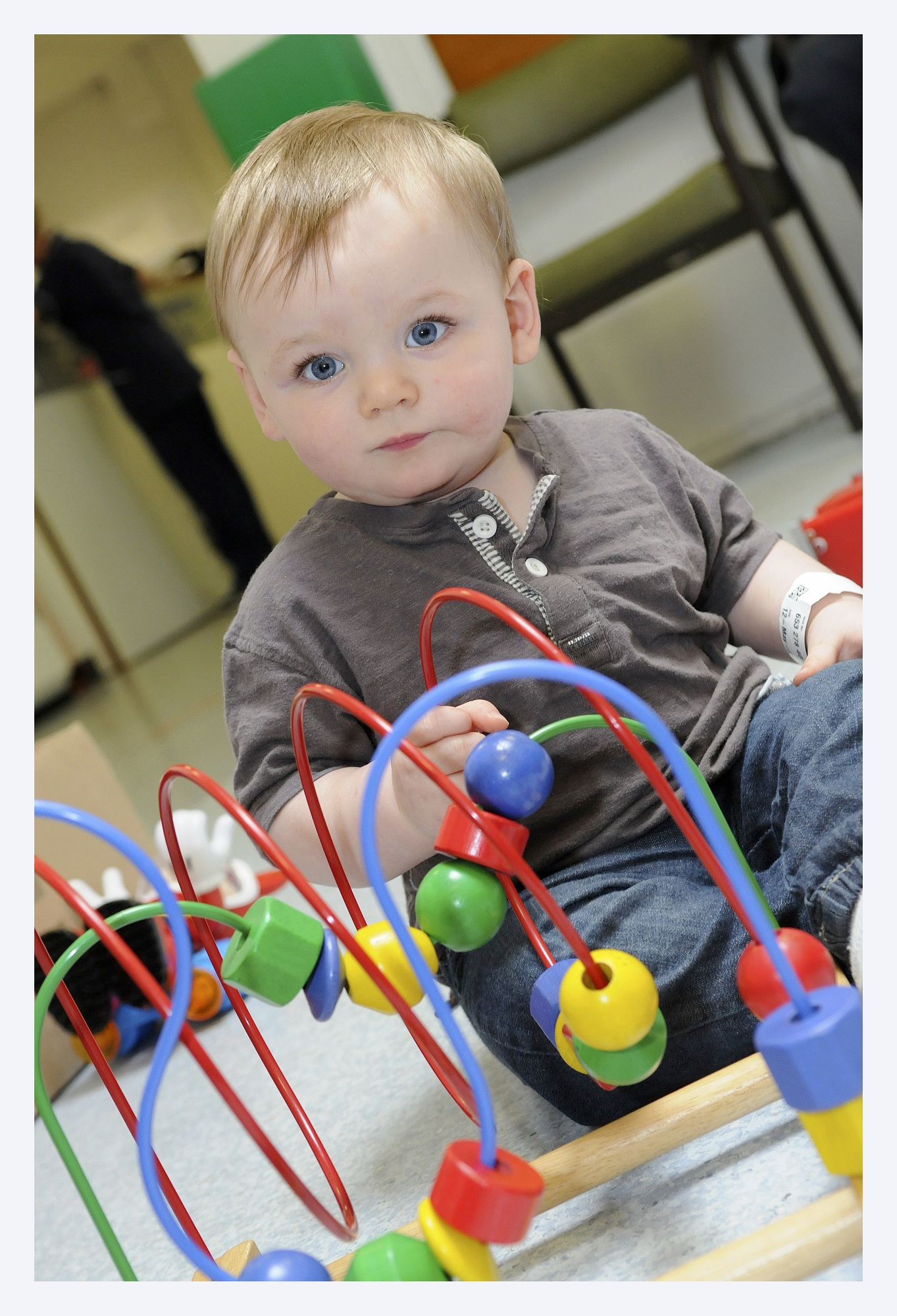 Clement Henderson has helped highlight the need for new play equipment for children admitted to A&E