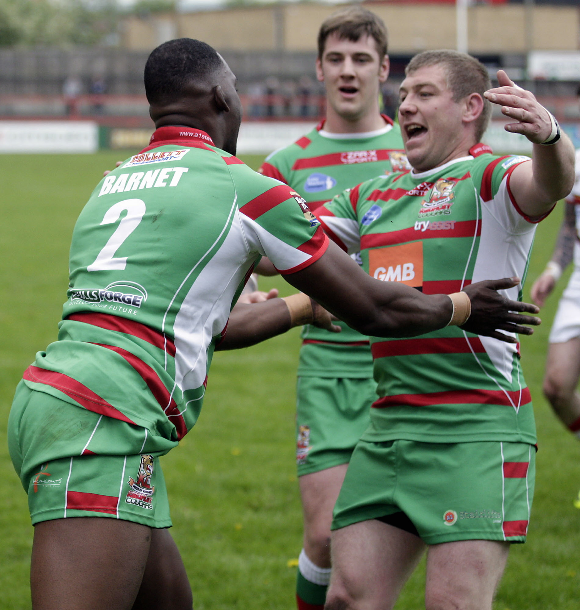 Barnett earns Keighley Cougars Rich pickings