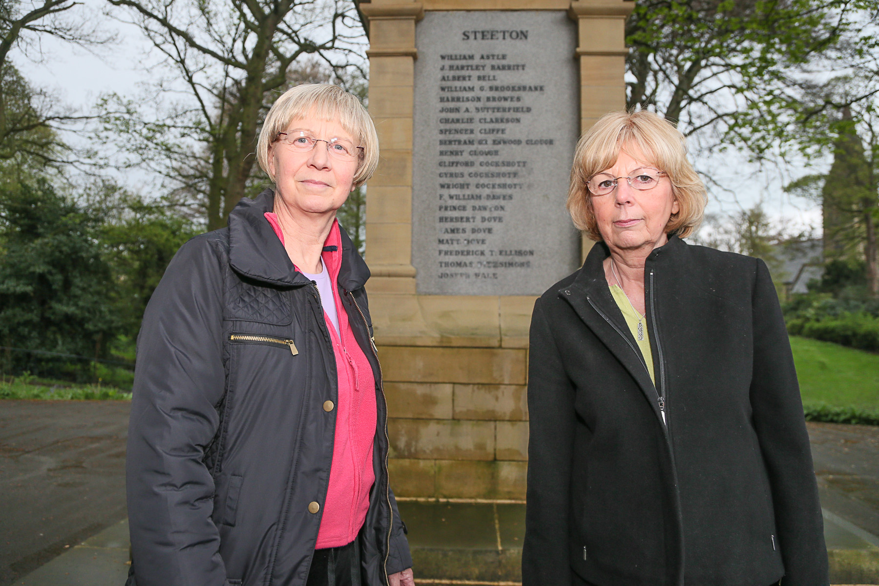 Janet Smithies, left, and Gillian Wilson, who are organising an exhibition about Steeton and Eastburn during the First World War