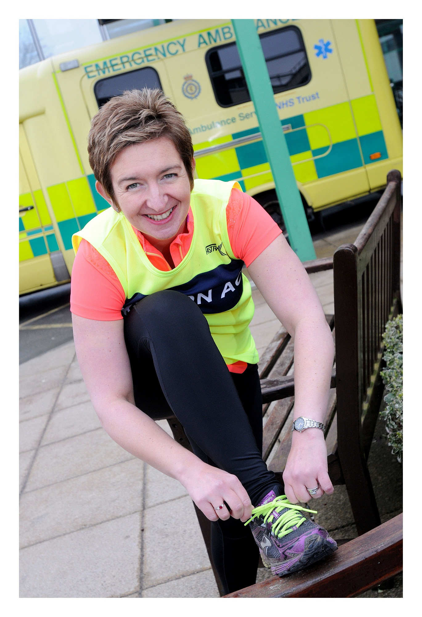 Rebecca Malin, who ran the 2014 London Marathon to raise money for the appeal