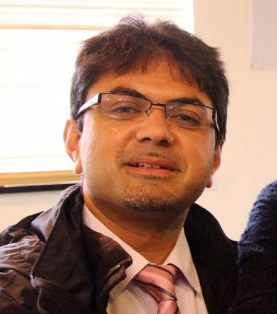 Dr Aziz Hafiz, the new Humanity First director of international disaster relief