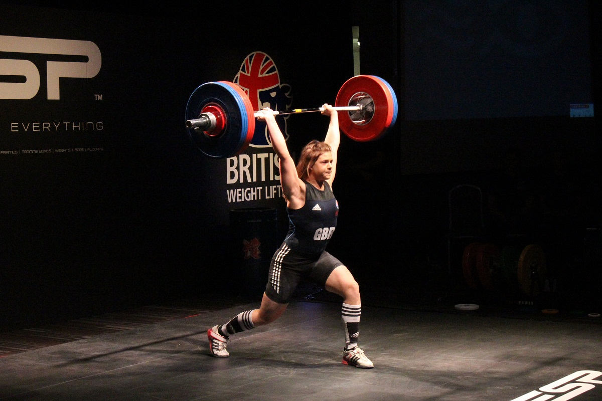 Rebekah Tiler is competing in the women's 69kg class in Glasgow