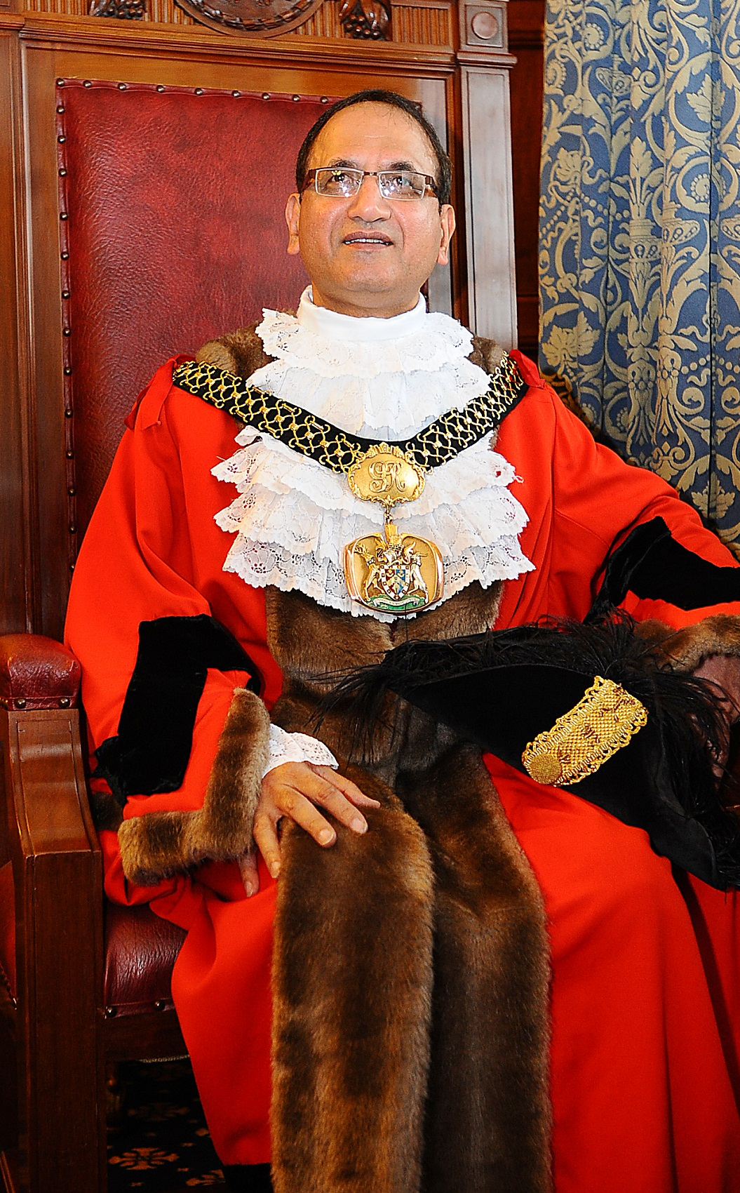 Councillor Khadim Hussain, the Lord Mayor of Bradford