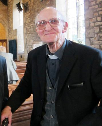 The Reverend Brian Levick, who has died