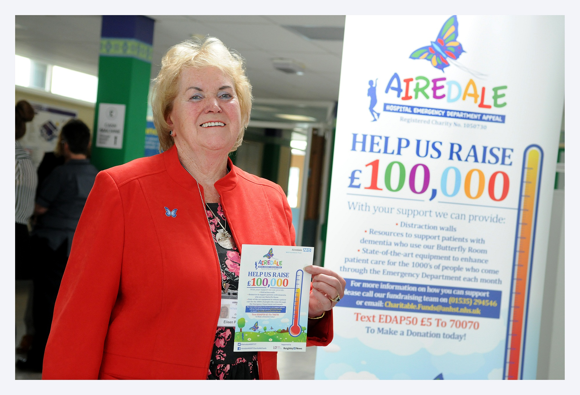 Friends of Airedale chairman, Eileen Proud, who is backing the campaign
