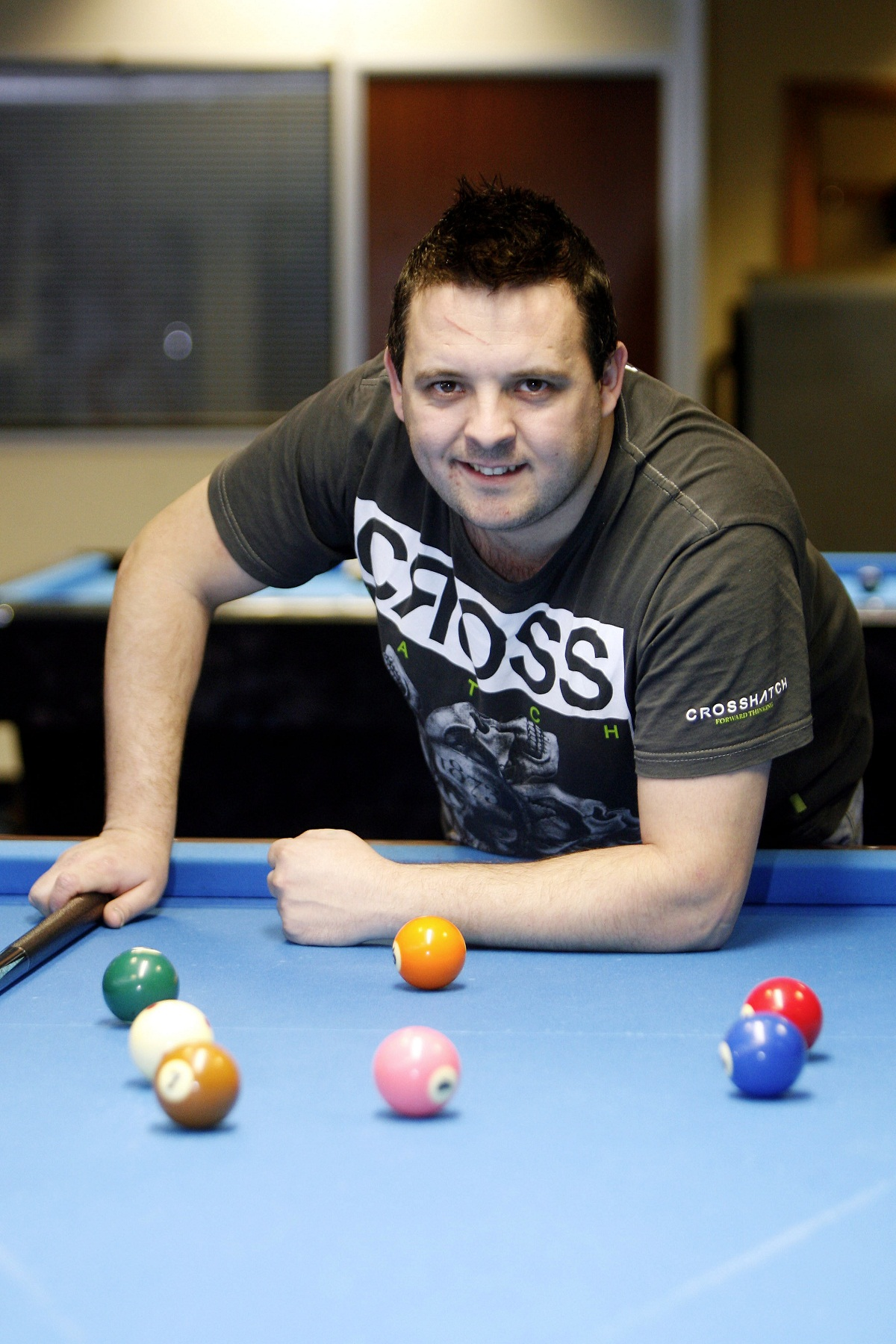 Pool ace Chris Melling bowed to teenager Ross Muir in the Australi
