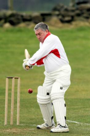 Brian Hodgson saw Embsay Seconds home with an unbeaten 32