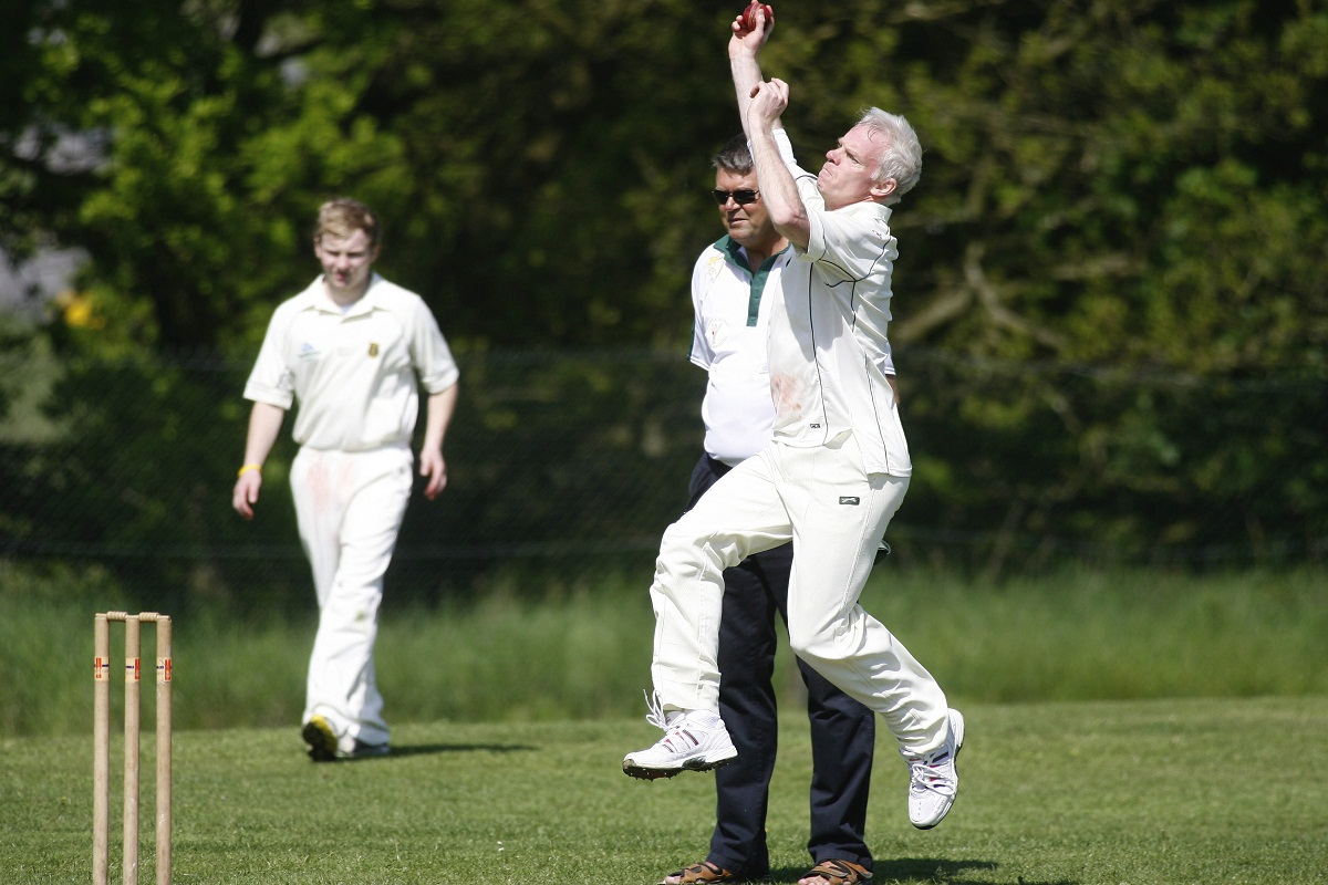 Stephen Speak starred with the bat for Embsay