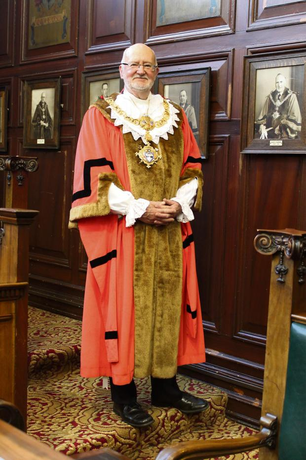 Keighley News: Keighley mayor Councillor Graham Mitchell says town councillors should be proud of what they have achieved