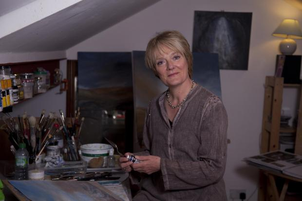 Keighley News: Nicole Dickinson who is one of the artists taking part in this weekend's North Yorkshire Open Studios