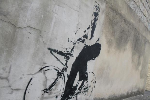 Banksy-style murals will greet Tour de France visitors to Keighley and the Worth Valley