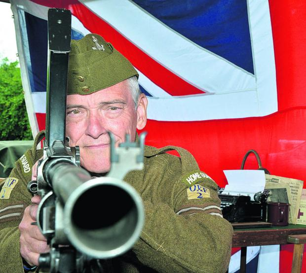 The Home Guard who are due to appear at the Armed Forces Day